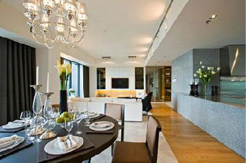 The Met Sathorn Bangkok, 3 bedroom condo for rent