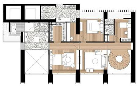 The Met Sathorn Bangkok, 4 bedroom condo unit and floor plans