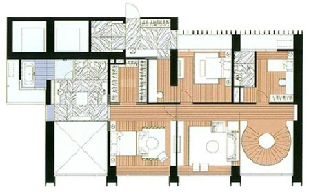 The Met 4 bed room - Penthouse - Upper Floor